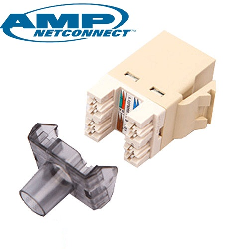 ổ cắm mạng Cat6 COMMSCOPE/AMP – Mudular Jack Cat6